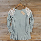 Dusty Sage Lace Thermal: Alternate View #4