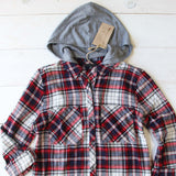 The Easton Plaid Hoodie: Alternate View #3