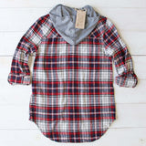 The Easton Plaid Hoodie: Alternate View #4