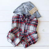 The Easton Plaid Hoodie: Alternate View #1