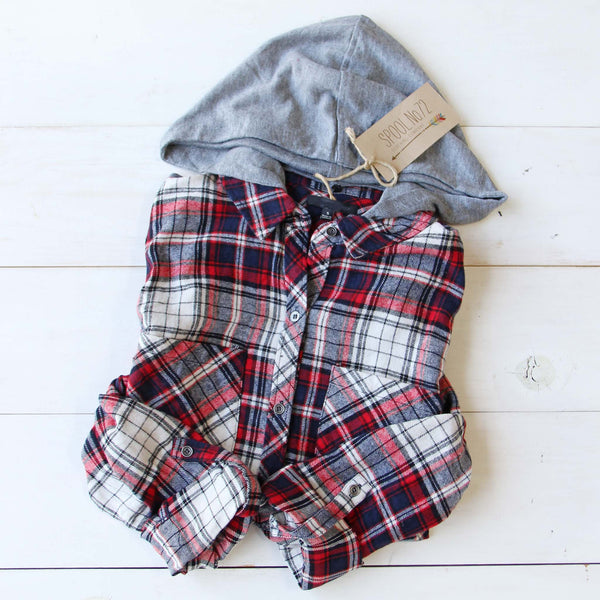 The Easton Plaid Hoodie: Featured Product Image