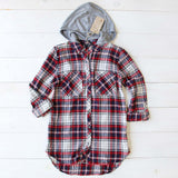 The Easton Plaid Hoodie: Alternate View #2