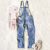 Easy May Overalls Dark Wash: Alternate View #4