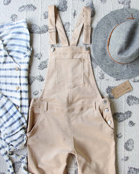 Easy October Overalls: Featured Product Image