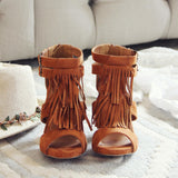 Easy Rider Fringe Sandals: Alternate View #3