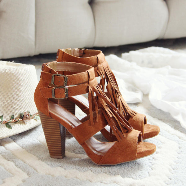 Easy Rider Fringe Sandals: Featured Product Image
