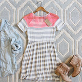Easy Wear Stripe Dress: Alternate View #4