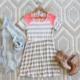 Easy Wear Stripe Dress: Alternate View #1