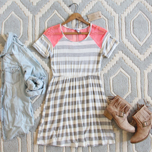 Easy Wear Stripe Dress: Featured Product Image