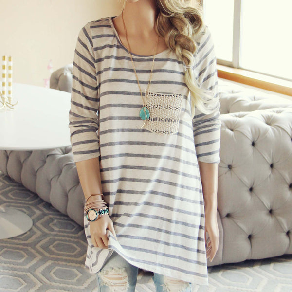 Easy Stripe Tee: Featured Product Image