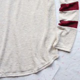 Easy Wear Tee in Burgundy: Alternate View #3