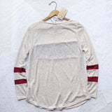 Easy Wear Tee in Burgundy: Alternate View #4