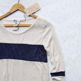 Easy Wear Tee in Navy: Alternate View #2