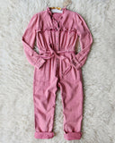 Edelweiss Ruffle Coveralls: Alternate View #1