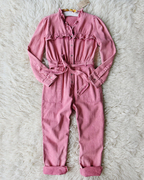 Edelweiss Ruffle Coveralls: Featured Product Image