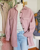Pink Thyme Shirt Jacket: Alternate View #2