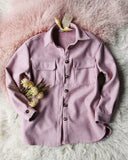 Pink Thyme Shirt Jacket: Alternate View #4