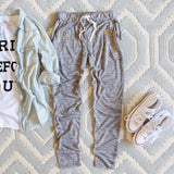 Spool Active Ellie Joggers in Gray: Alternate View #1