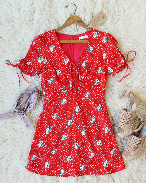 Emory Dress in Red: Featured Product Image