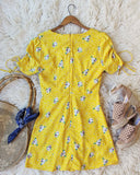 Emory Dress in Yellow: Alternate View #4