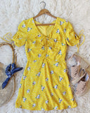 Emory Dress in Yellow: Alternate View #1