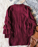 Enchanted Knit Sweater Dress: Alternate View #4