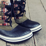 Eskimo Plaid Snow Boots: Alternate View #2
