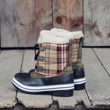 Eskimo Plaid Snow Boots: Alternate View #3