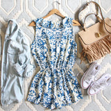 Blue Hush Romper: Alternate View #4