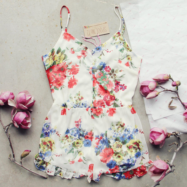 Evening Hush Romper: Featured Product Image