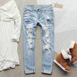 Eversage Distressed Jeans: Alternate View #1