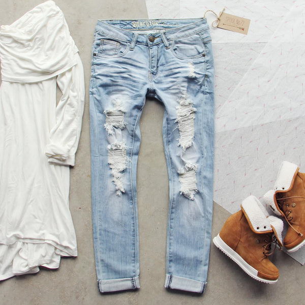 Eversage Distressed Jeans: Featured Product Image