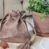 Eyelet & Tassel Tote: Alternate View #3