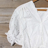 Eyelet Haze Blouse: Alternate View #2