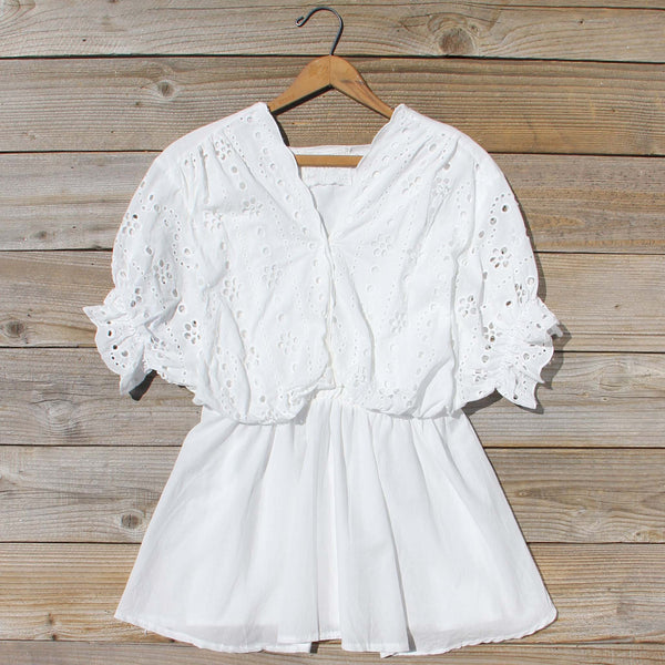 Eyelet Haze Blouse: Featured Product Image