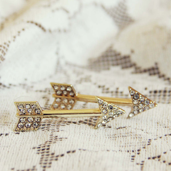 Fabled Arrow Earrings: Featured Product Image