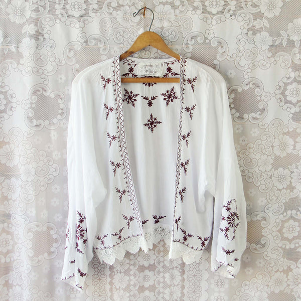Fable Lace Duster: Featured Product Image