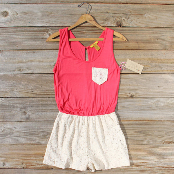 Fable Lark Romper: Featured Product Image