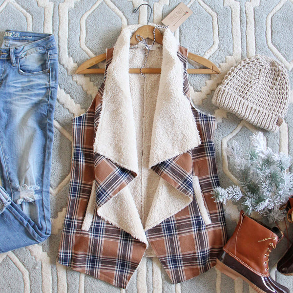 Fable & Plaid Vest: Featured Product Image