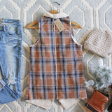 Fable & Plaid Vest: Alternate View #4