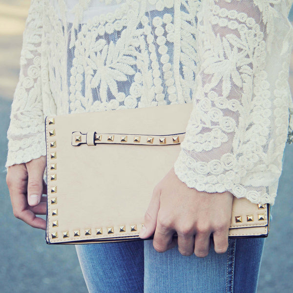 Fabled Waters Cross Body Tote in Cream: Featured Product Image