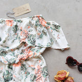 Faded Bloom Romper: Alternate View #3