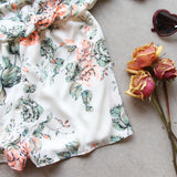 Faded Bloom Romper: Alternate View #4