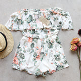 Faded Bloom Romper: Alternate View #5