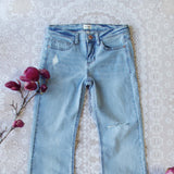 Faded Blues 70's Jeans: Alternate View #2