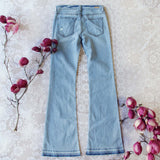 Faded Blues 70's Jeans: Alternate View #4