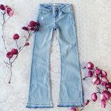 Faded Blues 70's Jeans: Alternate View #1