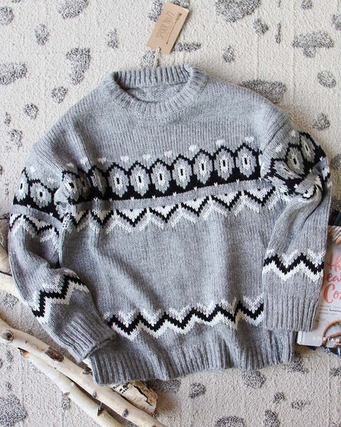 Fair Isle Knit Sweater: Featured Product Image