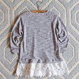 Fall Fable Lace Sweatshirt: Alternate View #4