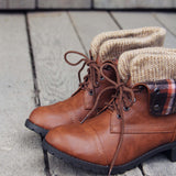 Fall Legend Booties: Alternate View #2